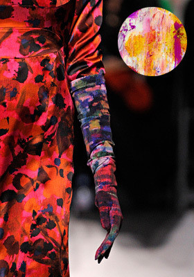 Цветной: 35 принтов из коллекций FW 2011. Изображение № 21.