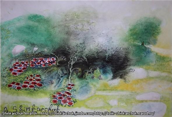 Shinkarchuk Anatoly watercolor and Japan Шинкарчук Анатолий акварель и Япония. Изображение № 19.