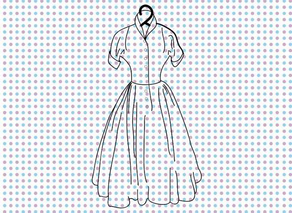 Платье Dior в стиле New Look. Изображение № 2.