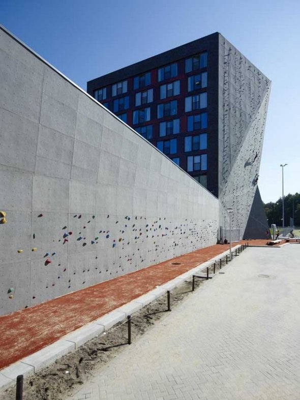 Новое общежитие университета втвенте. Изображение № 1.