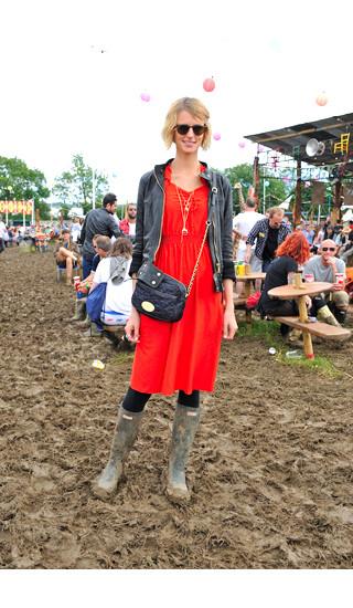 Изображение 11. Уличный стиль на фестивале Glastonbury.. Изображение № 11.