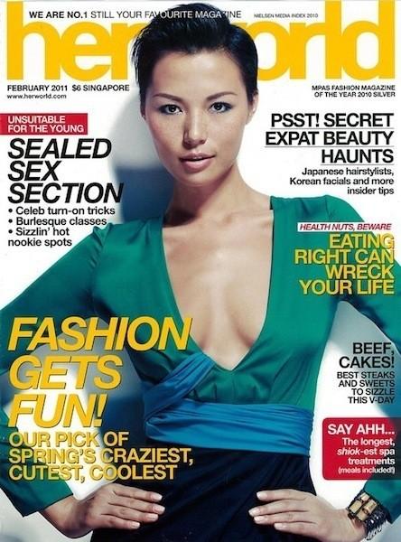 Коллекция Gucci SS 2011 появилась на 50 обложках журналов. Изображение № 27.
