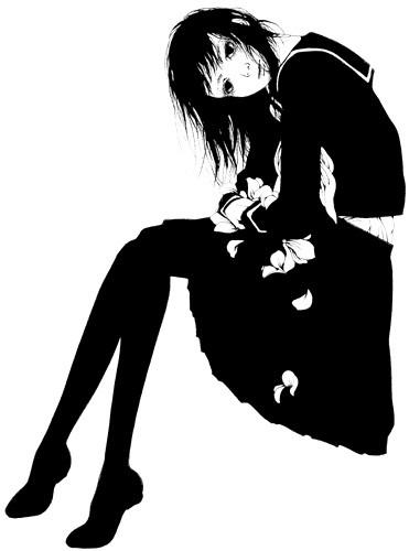 Katsuta Mako – черно-белая грация. Изображение № 13.