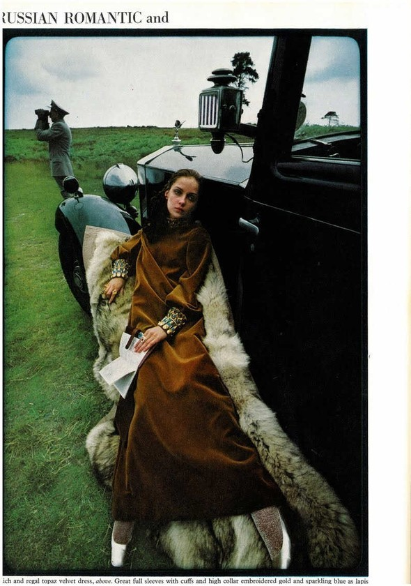 DONNA MITCHELL: Vogue UK, October 1967. Изображение № 5.