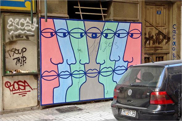 Стрит-арт и граффити Афин, Греция. Изображение № 18.
