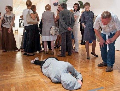 Ночь в музее:  Кто и зачем спал  ради искусства. Изображение № 3.