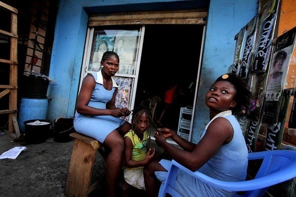 Изображение 16. Рыночные девушки из Ганы.. Изображение № 16.