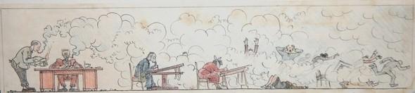 Советская карикатура НА ЗлоБу ДнЯ. Изображение № 1.