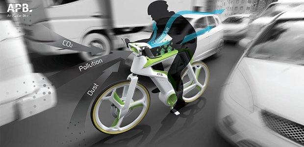 В Таиланде создают велосипед, очищающий воздух. Изображение № 1.