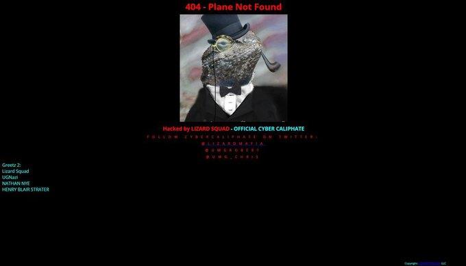 Хакеры Lizard Squad атаковали сайт Malaysia Airlines. Изображение № 1.