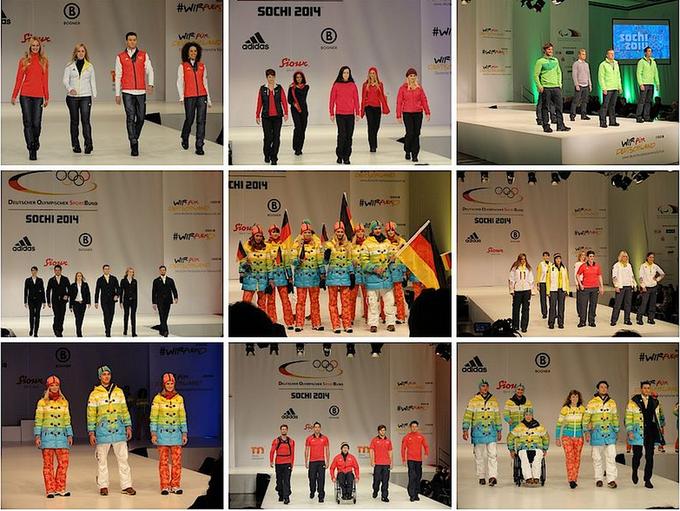 Немецкая олимпийская сборная показала форму для Сочи-2014. Изображение № 2.