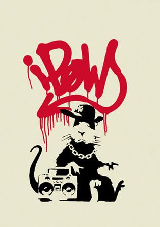 """Бэнкси """"Gangsta Rat"""". Изображение № 5."""
