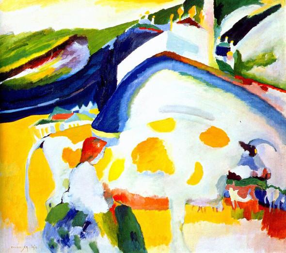 Коллекция работ В.В. Кандинского. Изображение № 9.