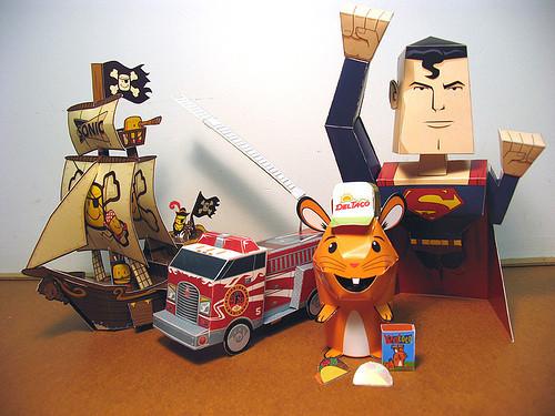 Paper Toys. Изображение № 12.