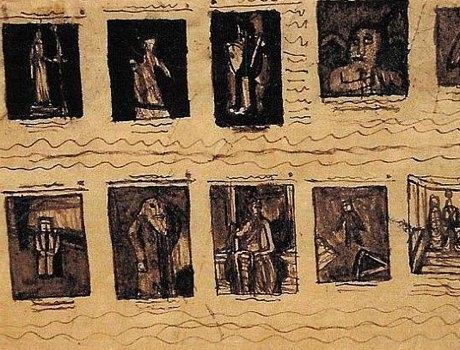 Аутсайдерское искусство: Аутист, раб, почтальон и другие неожиданно великие художники. Изображение № 6.