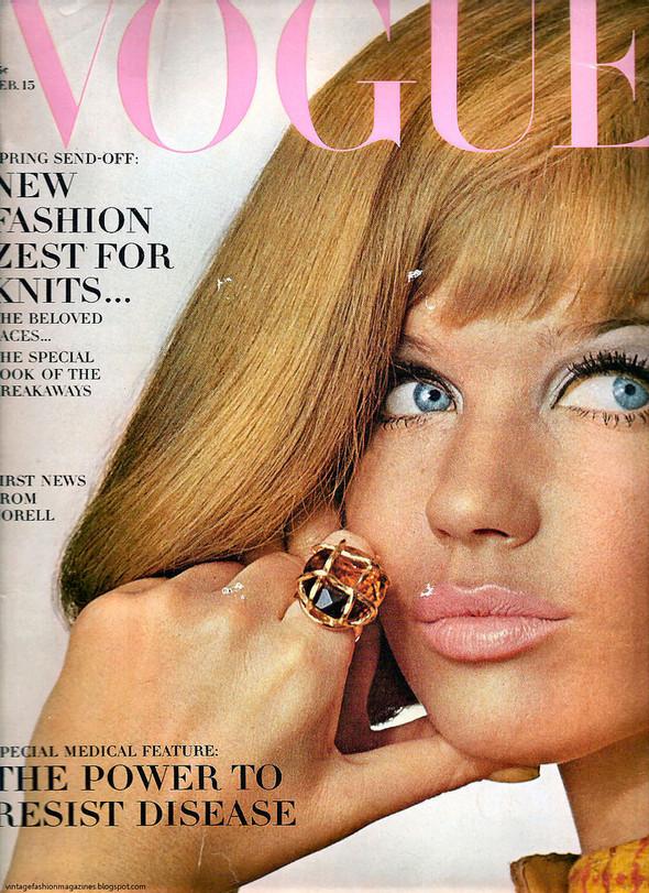 Калейдоскоп обложек Vogue. Изображение № 34.