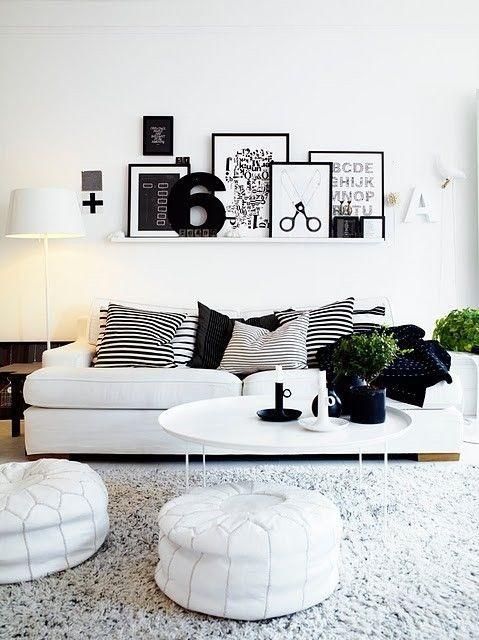 Black&white - 33 красивейших интерьера черно-белой гаммы. Изображение № 3.