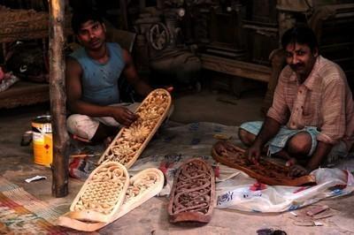 Изображение 1. Резные скейты из Мумбаи.. Изображение № 1.