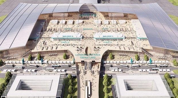 Архитектура дня: новый терминал аэропорта Гатвик под Лондоном. Изображение № 3.