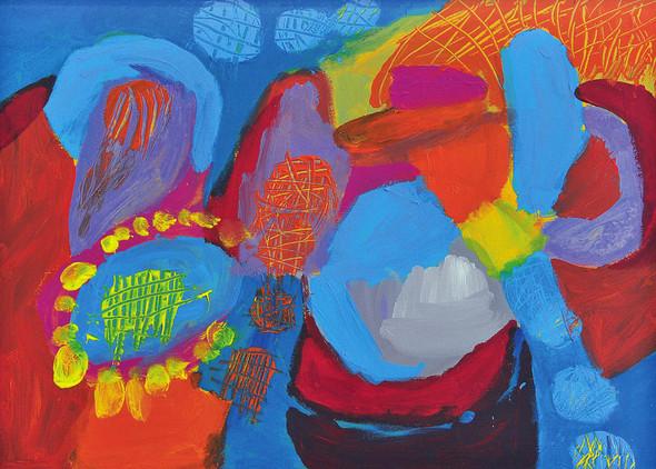 «NOVRUZ -новый день». Выставка художника Марьям Алакбарли в ММСИ. Изображение № 5.