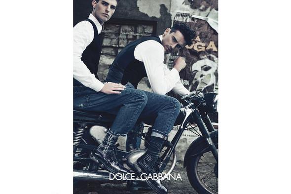 Мужские кампании: Fendi, Dolce & Gabbana и Ralph Lauren. Изображение № 13.