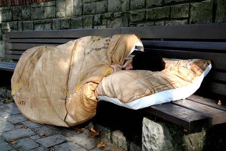 Спать подкартонной каробкой. Изображение № 1.