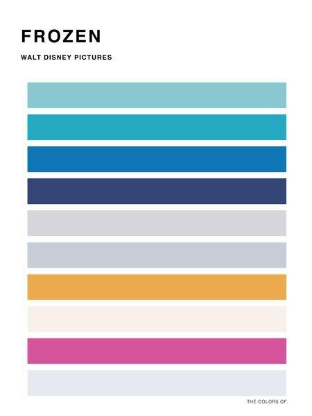 Дизайнер выбрал цвета из фильмов Миядзаки и Disney. Изображение № 14.