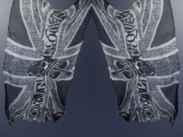 Изображение 3. Лукбук: платки Alexander McQueen SS 2011.. Изображение № 3.