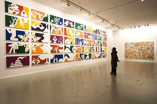 """Выставка """"Studio Franchise"""" художника Ryan McGinness. Изображение № 4."""