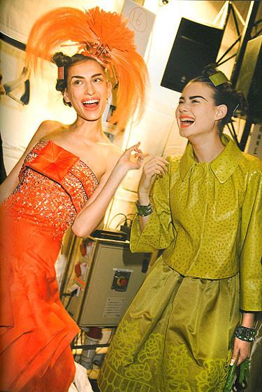 Роксанна Лоуит: за кулисами Dior. Изображение № 12.