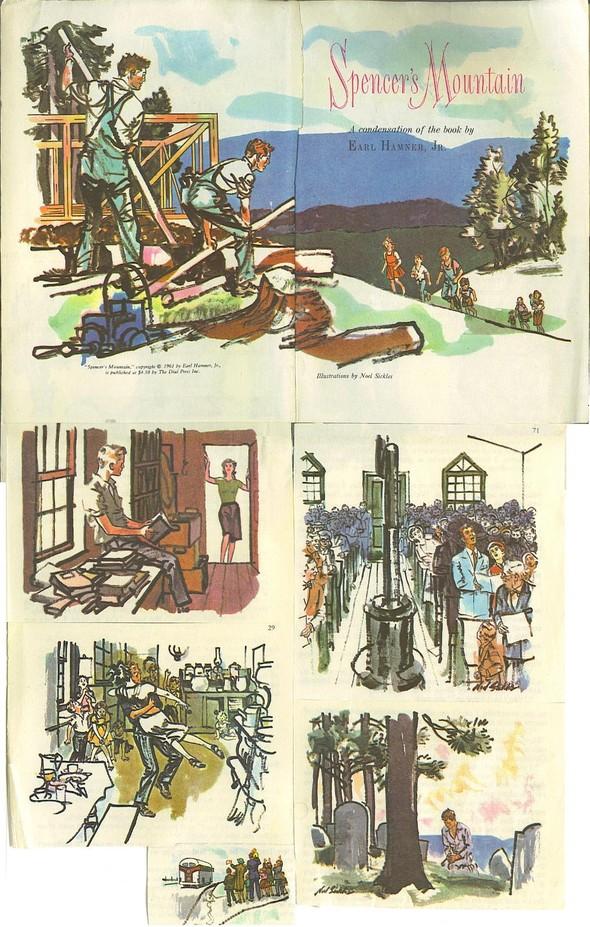 Американские иллюстраторы 40–60гг. ЧАСТЬ 1. Изображение № 75.
