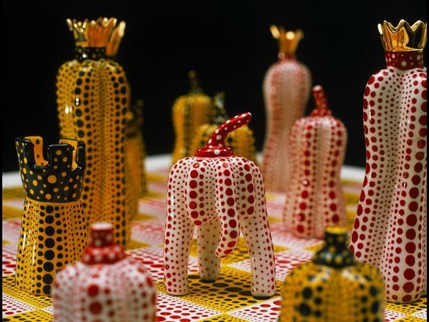 Шахматный набор Яёй Кусамы. Изображение №2.