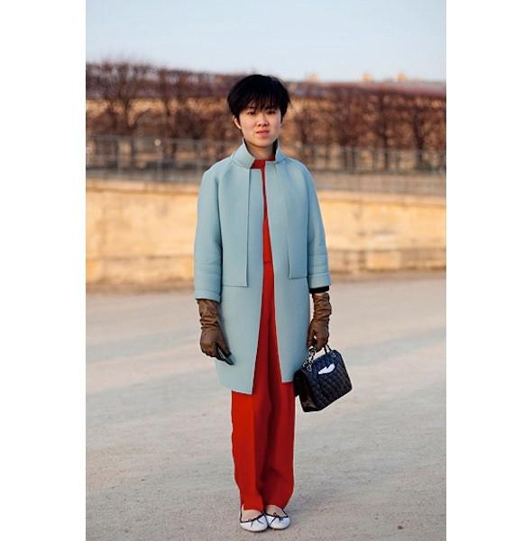 Изображение 53. На полях: 10 тенденций уличного стиля с прошедших недель моды.. Изображение № 53.
