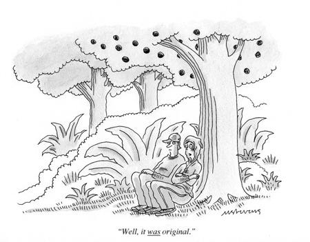 Facebook забанил страницу The New Yorker за неприличную карикатуру. Изображение № 2.
