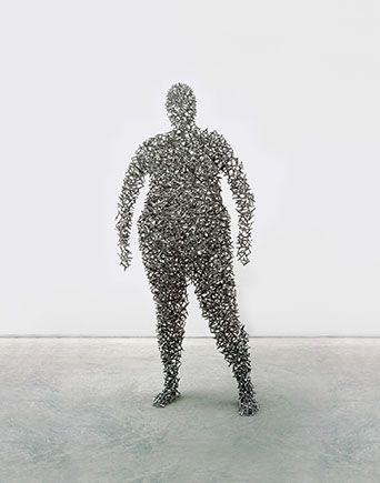 Человек-скульптура. Изображение № 6.