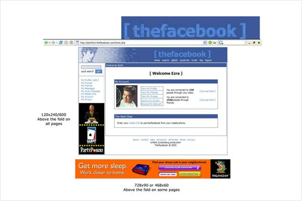 Опубликовано первое предложение по рекламе TheFaceBook. Изображение № 1.
