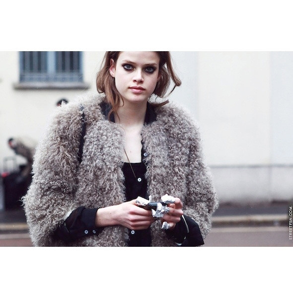 Изображение 120. На полях: 10 тенденций уличного стиля с прошедших недель моды.. Изображение № 120.