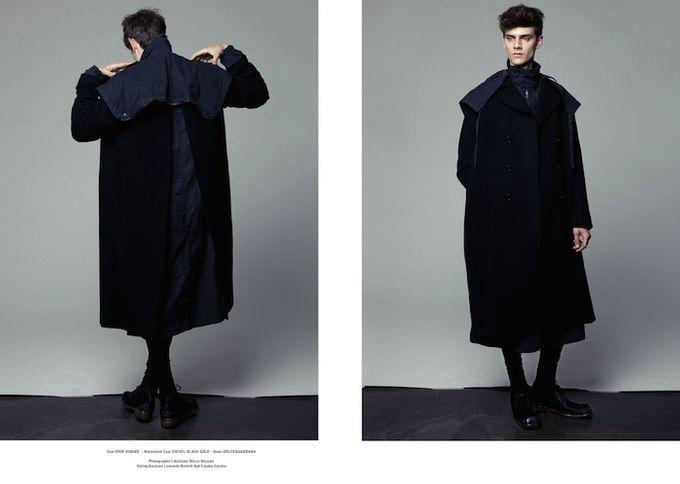 Вышли новые мужские съемки из Citizen K, Fashionisto, Vogue и других журналов. Изображение № 4.