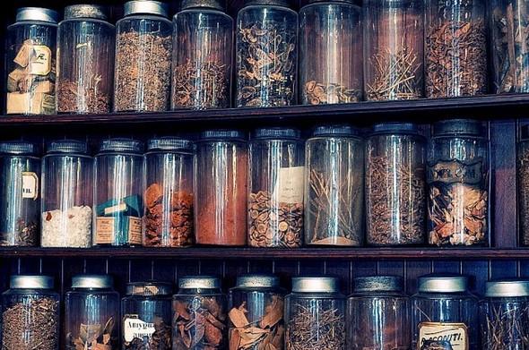 Аптека - музей в Новом Орлеане. Изображение № 7.