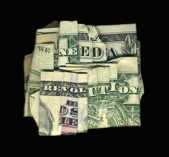 Скрытые сообщения на долларовых купюрах. Изображение № 2.