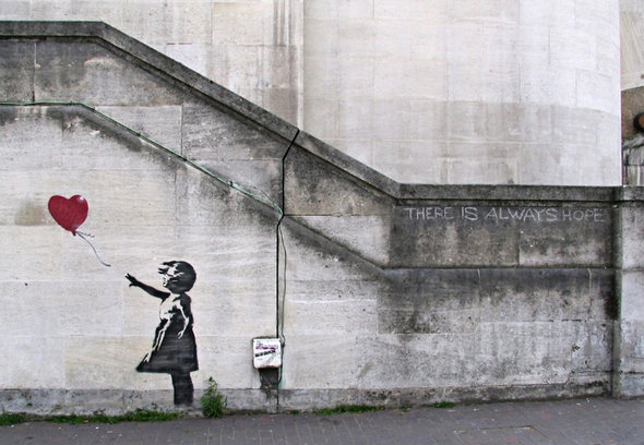 Изображение 2. Banksy (уличная мышь – герой).. Изображение № 1.
