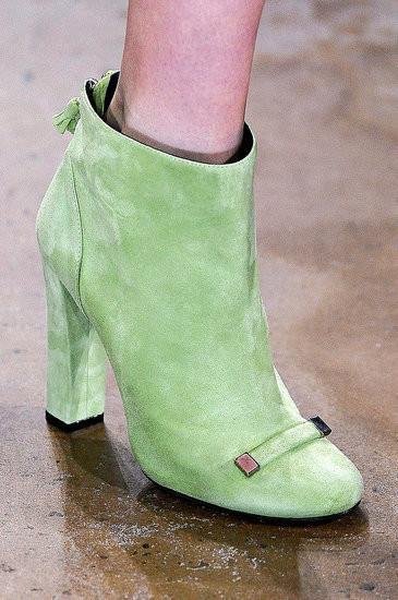 Изображение 10. Неделя моды в Нью-Йорке: обувь.. Изображение № 10.