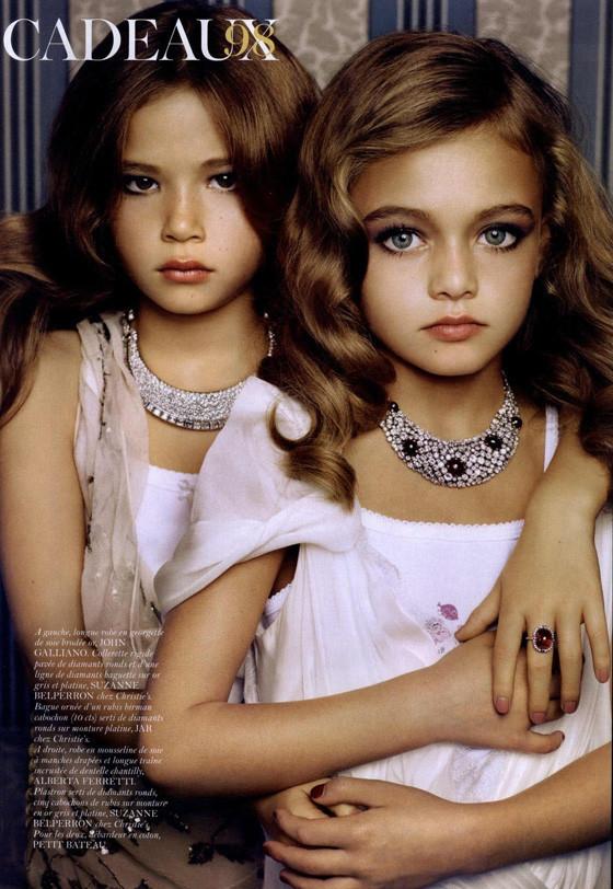 Маленькие модели в Vogue Paris. Изображение № 8.