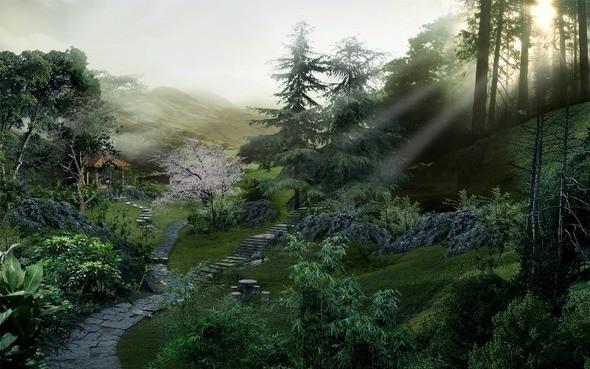 Изображение 20. Пейзажи Поднебесной.. Изображение № 20.