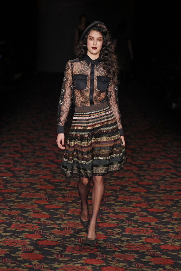 Berlin Fashion Week A/W 2012: Lena Hoschek. Изображение № 50.