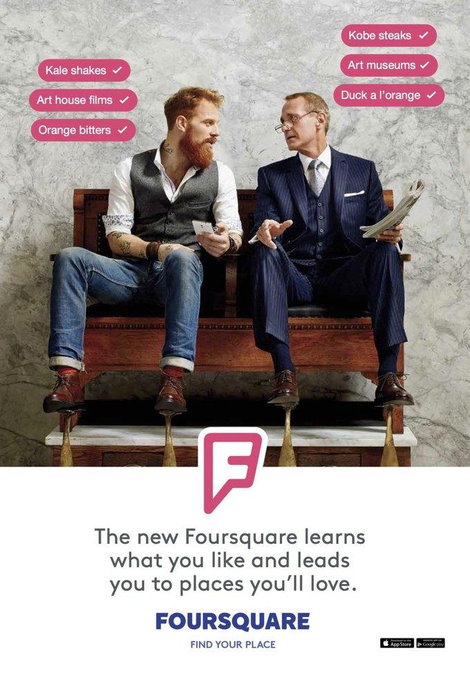 Foursquare запустил первую рекламную кампанию. Изображение № 2.