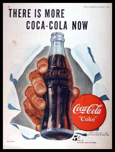 Изображение 34. Coca-cola – История бренда, история рекламы.. Изображение № 34.