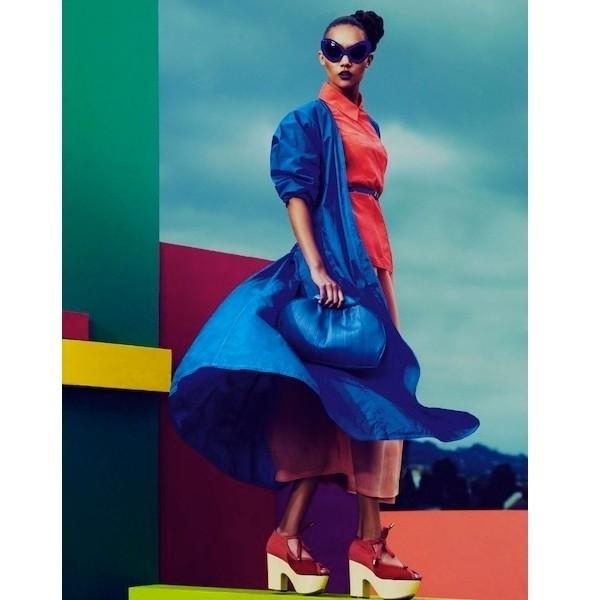 Изображение 6. Съемки: Love, Purple Fashion, Vogue и другие.. Изображение № 12.