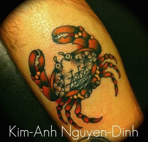 Kim-Anh Nguyen-Dinh : От рисунка к татуировке. Изображение № 8.
