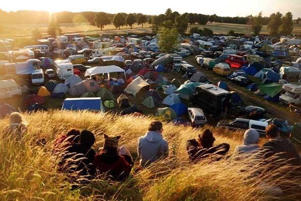 Палаточный городок на фестивале Fusion-2011. Изображение № 21.